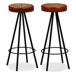 vidaXL Cama con forma de coche de carreras para niños roja 90x200 cm