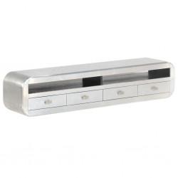 vidaXL Conjunto de alfombra y pufs 3 piezas de tela