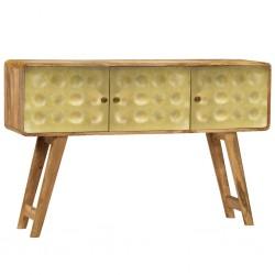 vidaXL Estructura de cama de madera maciza de acacia 140x200 cm