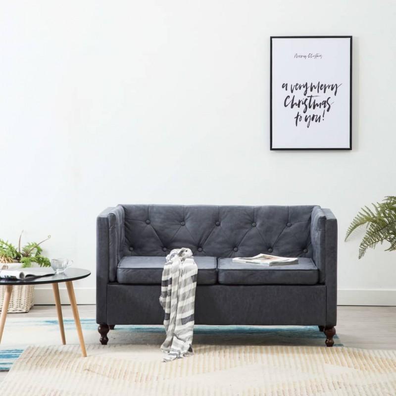 vidaXL Cestos para la ropa sucia de jacinto de agua 82x42,5x52,5 cm