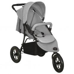 Mesa camilla de masaje de aluminio plegable de tres cuerpos azúles