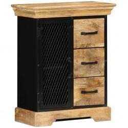vidaXL Cajas de almacenaje 10 uds textil no tejido 32x32x32 cm gris