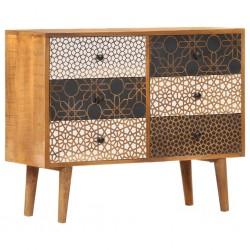 vidaXL Espejo de pared rectangular 60x110 cm negro