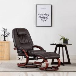 vidaXL Espejo de madera reciclada maciza 50x110 cm