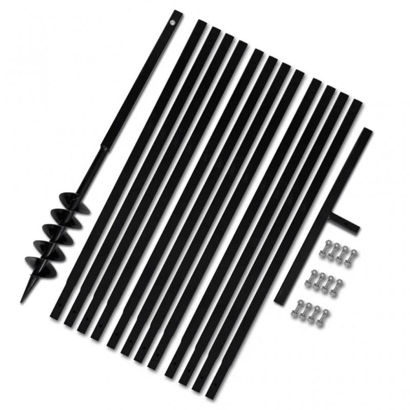 vidaXL Bloques de fibra de coco 650 g 20x10x4 cm 20 unidades