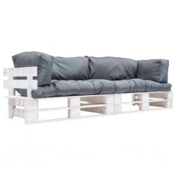 vidaXL Banco de recibidor 120x35x45 cm madera maciza de mango