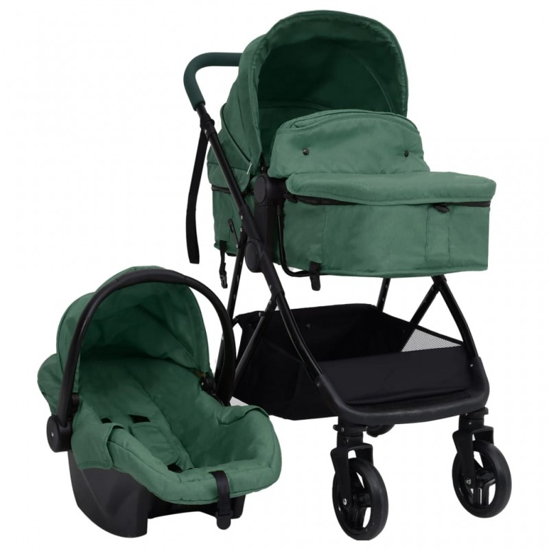 vidaXL Mesa de manicura plegable con ruedas negra