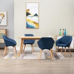 vidaXL Banco de madera maciza de mango 110 cm