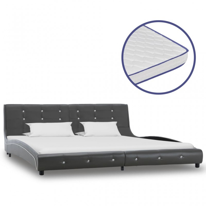 vidaXL Banco de madera maciza reciclada 110 cm