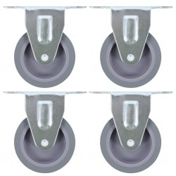vidaXL Mueble para la TV de madera maciza reciclada 120x30x75 cm