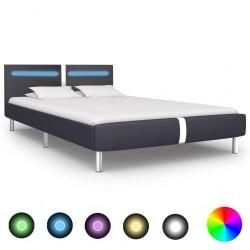 vidaXL Sofá cama modular de 4 plazas tela añil