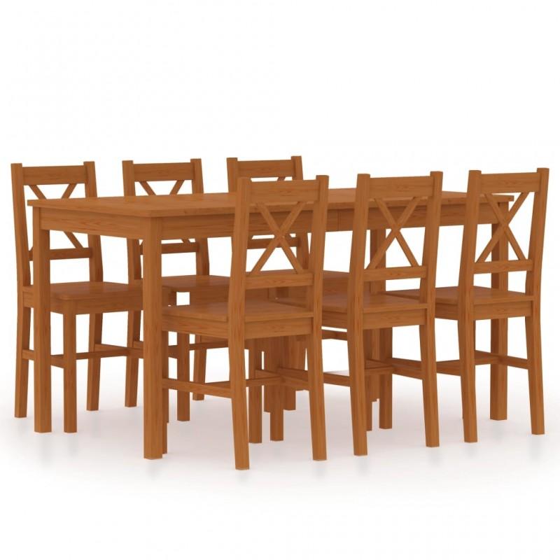 vidaXL Set de mesa y sillas de jardín 3 piezas mosaico blanco y negro