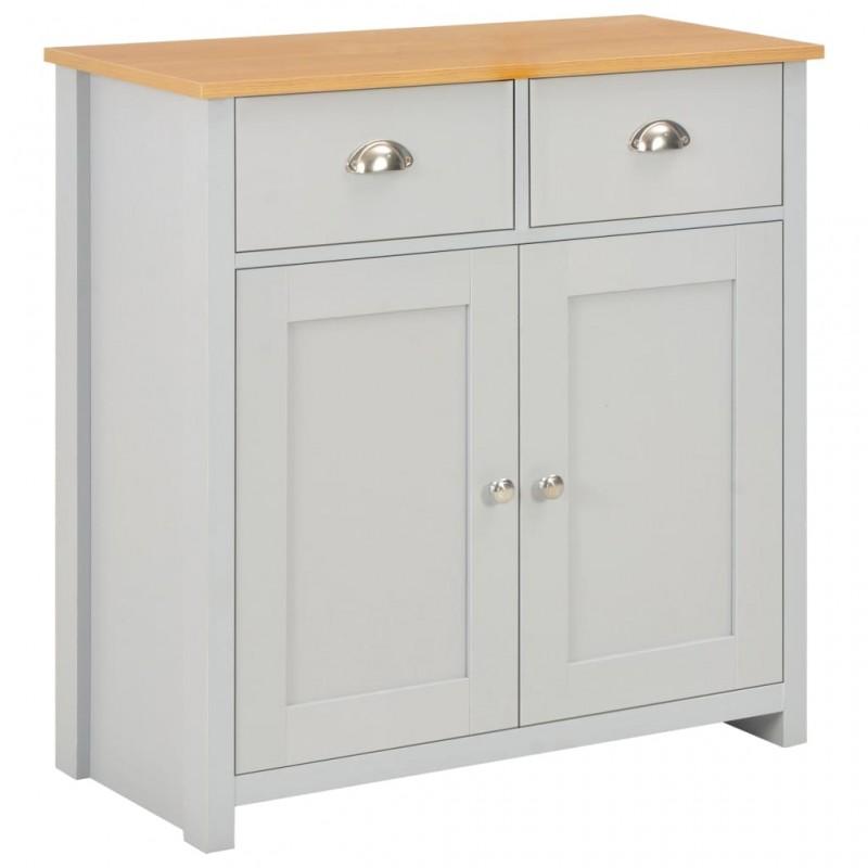 vidaXL Conjunto de muebles de baño y lavabo 7 piezas negro