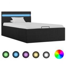 vidaXL Sofá de jardín de palés cojines grises madera de pino