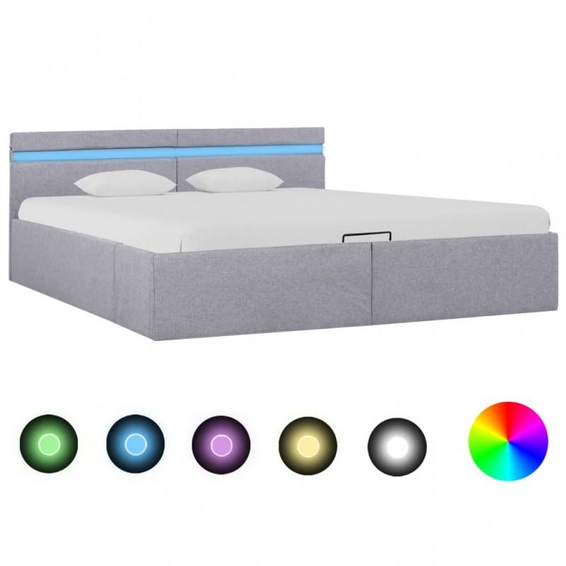 vidaXL Sofá de jardín de palés cojines rojos madera de pino