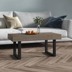 vidaXL Espejo de pared de jardín arqueado 60x110 cm negro