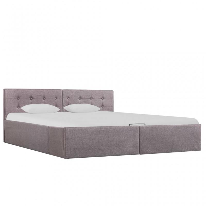 vidaXL Placa de peso para sombrilla 4 uds granito gris cuadrada 100kg