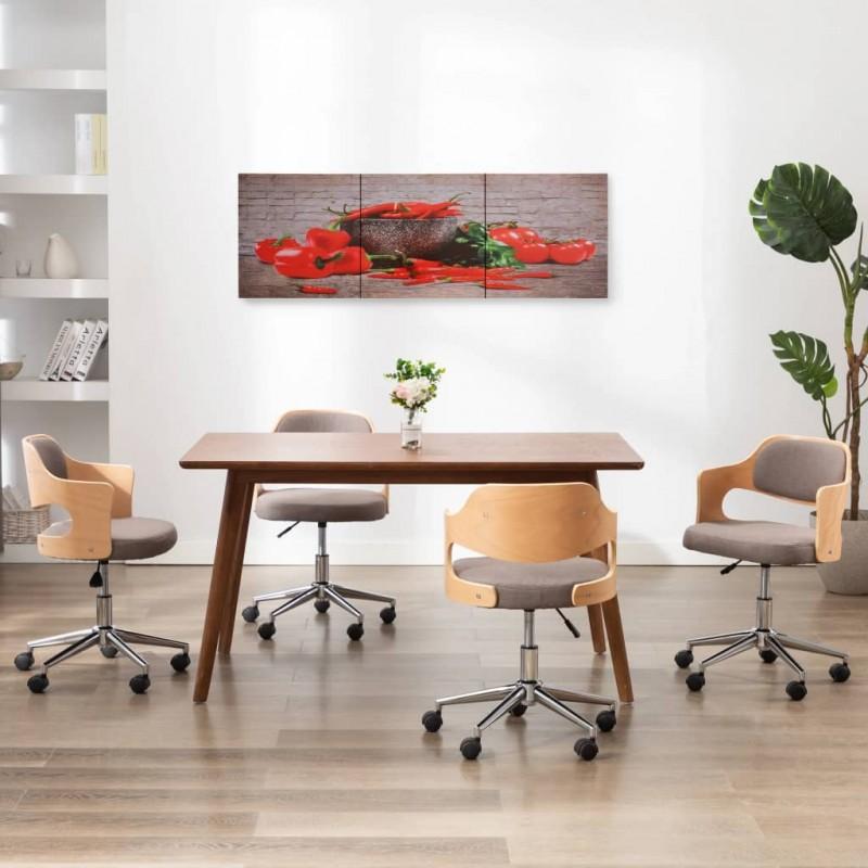 vidaXL Fuentes de jardín esféricas 3 unidades con LED acero inoxidable