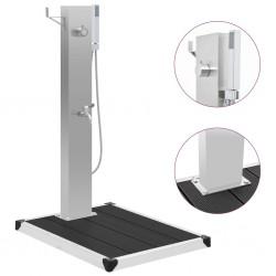 vidaXL Cama con colchón viscoelástico terciopelo negro 160x200 cm
