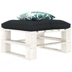 vidaXL Cama infantil coche de policía colchón viscoelástico 90x200 cm