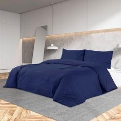 vidaXL Traje de chaqueta de hombre lino 2 piezas talla 50 gris oscuro