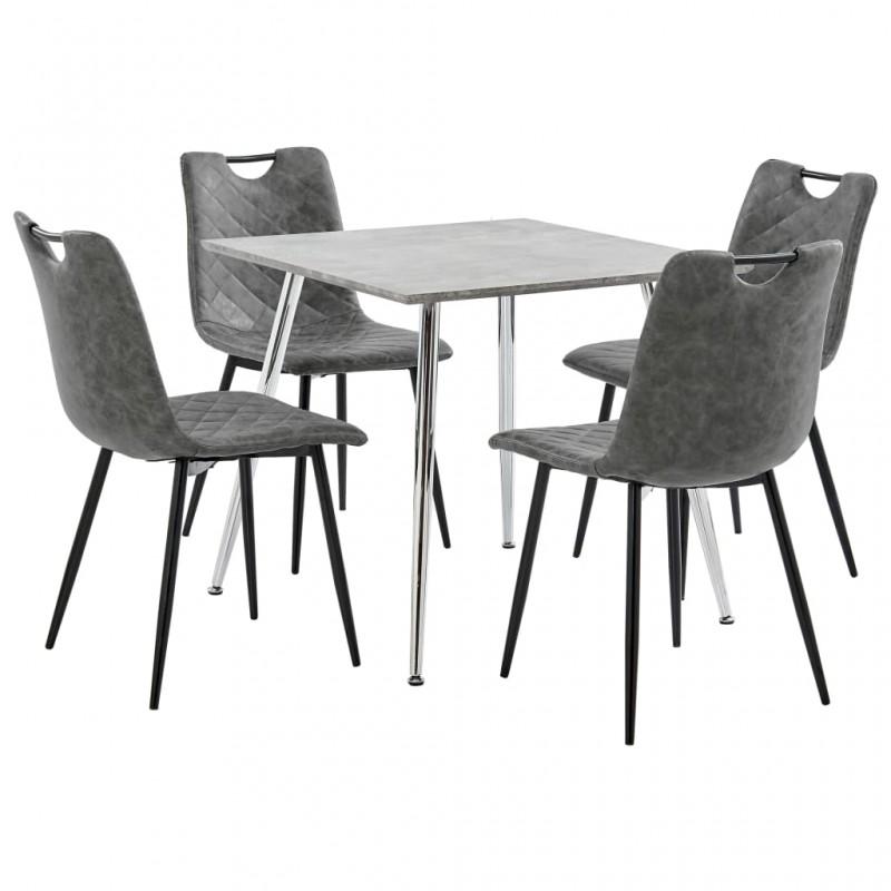 vidaXL Fundas para muebles de jardín 2 uds 8 ojales 180x70x90 cm