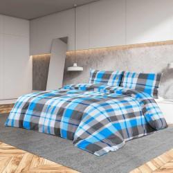 vidaXL Sábana bajera cama de agua 1,8x2m algodón blanco crudo 2 uds