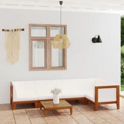 vidaXL Hojas artificiales de palmera 5 unidades verde 95 cm