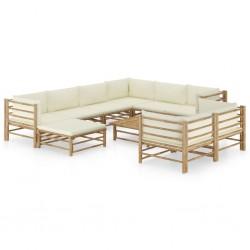 vidaXL Planta artificial lirio con macetero 65 cm blanca