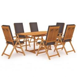 vidaXL Estructura de cama de tela gris claro 180x200 cm