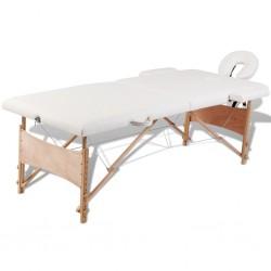 vidaXL Cortina blanca transparente 2 piezas 140x245 cm