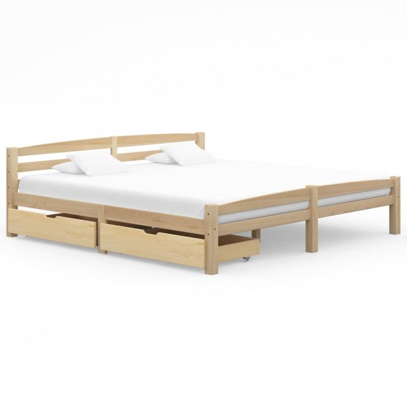 vidaXL Lámpara focos 2 uds bombillas de filamento 2W negro cobre E27
