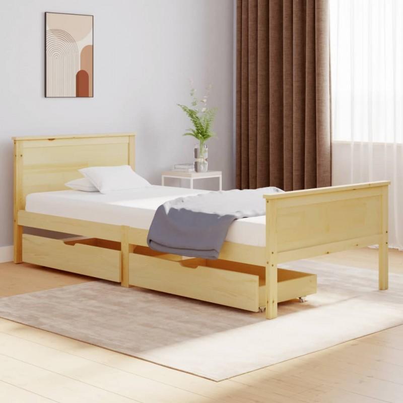 vidaXL Lámpara de focos con 2 luces negro 2 W E27