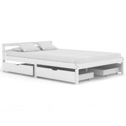 vidaXL Lámparas de techo con bombillas de filamento 2 W negro E27
