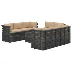 vidaXL Carrito de cocina de madera maciza de acacia 80x45x91 cm