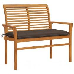 vidaXL Estructura de cama de madera maciza de pino gris 140x200 cm