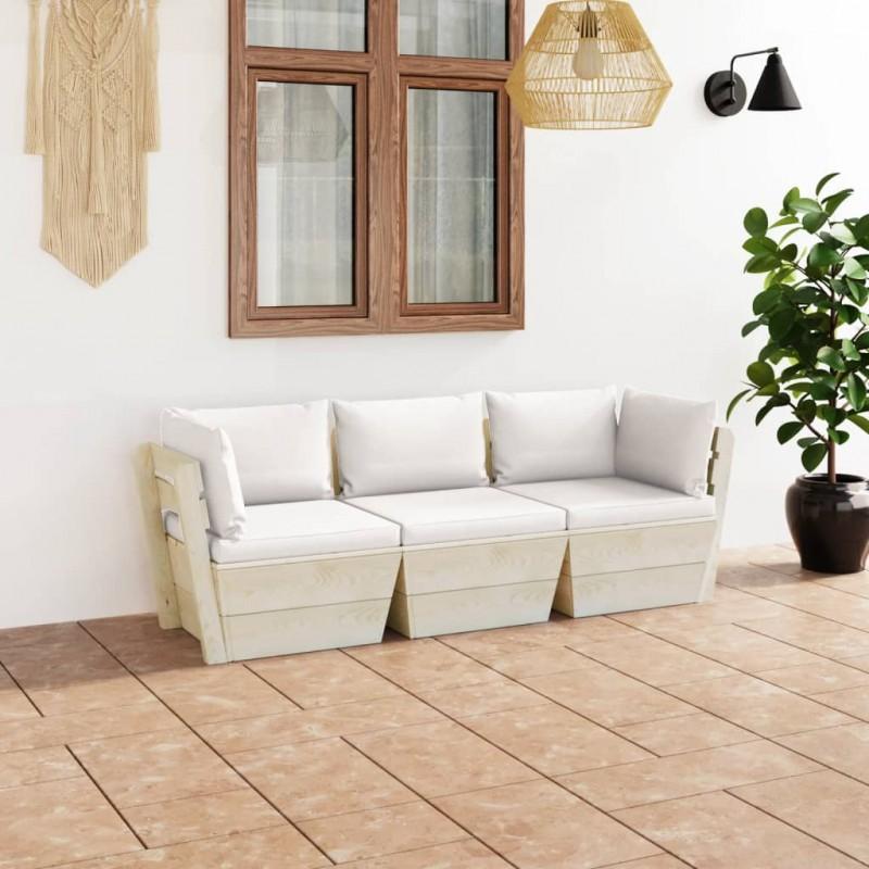 vidaXL Aparador de aglomerado gris brillante 60x35x76 cm