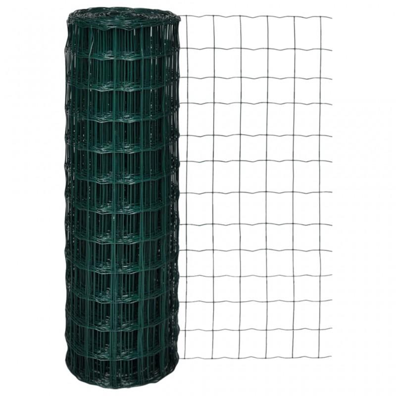 vidaXL Manta de algodón gris antracita/marrón 125x150 cm