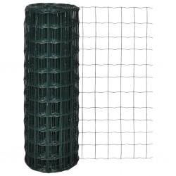 vidaXL Manta de algodón gris antracita/marrón 160x210 cm