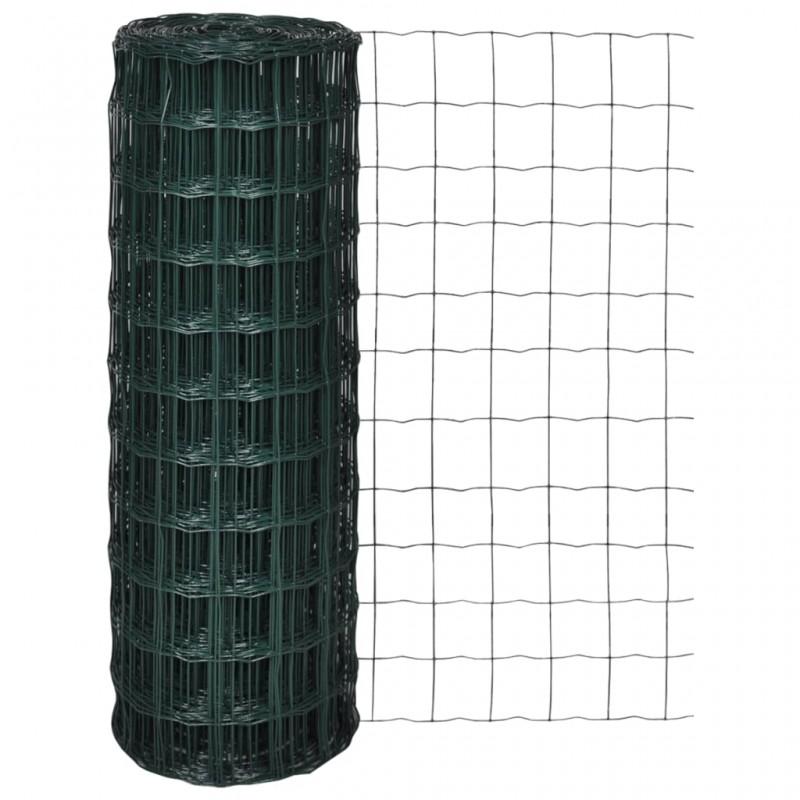 vidaXL Manta de algodón gris antracita/marrón 220x250 cm