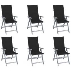 vidaXL Armario de cuarto de baño con espejo y LED 68x11x80 cm
