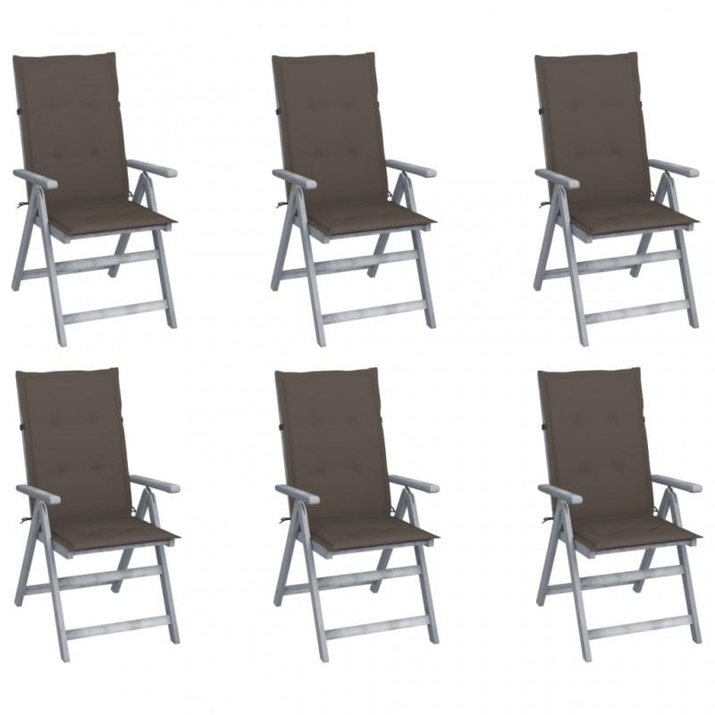 vidaXL Armario de cuarto de baño con espejo y LED 80x11x55 cm