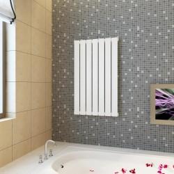 vidaXL Manta de algodón rosa envejecido 125x150 cm