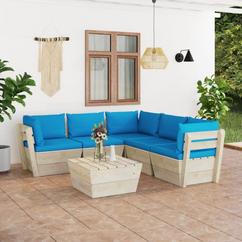 vidaXL Jarrón decorativo de madera maciza de teca 40x100 cm