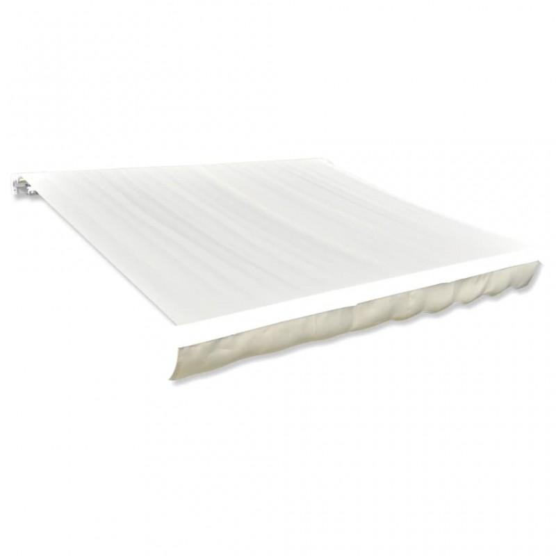 vidaXL Mantel individual 6 unidades liso redondo algodón natural 38 cm