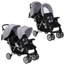 vidaXL Barandilla de seguridad cama de niño rosa 102x42 cm