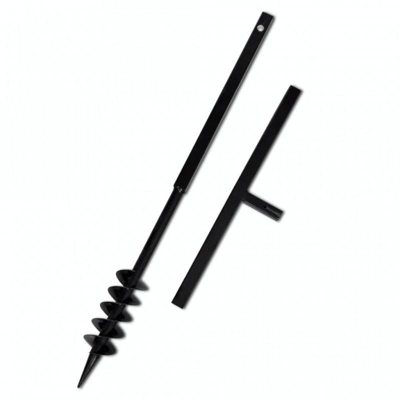 vidaXL Mantel individual 6 uds liso redondo algodón gris oscuro 38 cm