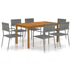 vidaXL Mueble para TV de madera maciza de sheesham 80x30x42 cm