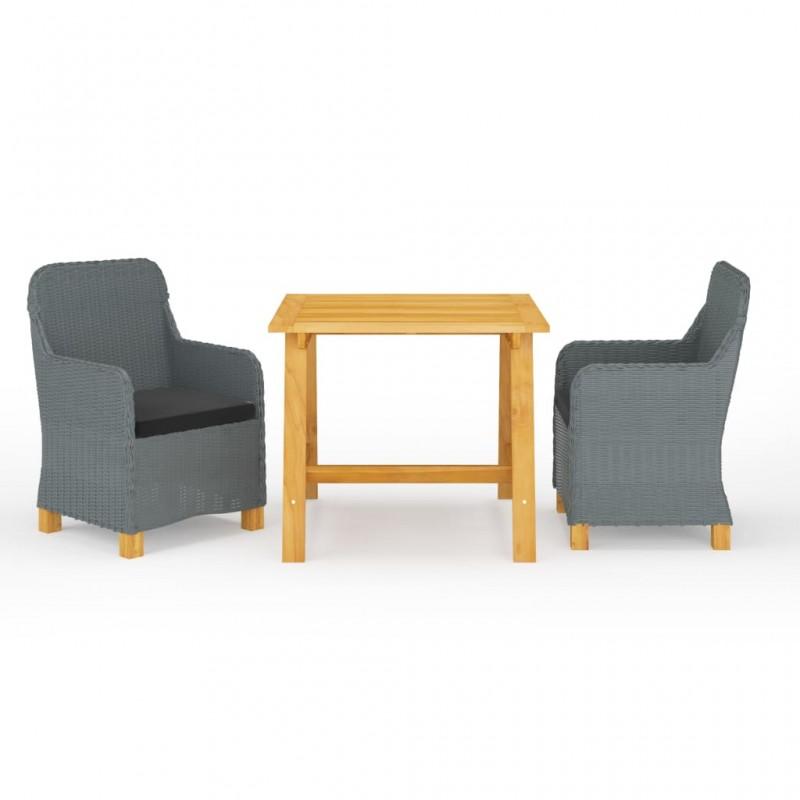 vidaXL Escritorio de dibujo para niños inclinable azul y blanco