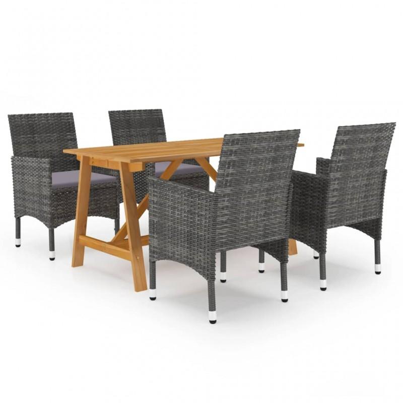 vidaXL Mesa de dibujo para adolescentes MDF blanco 110x60x87 cm